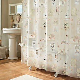 Nature's Moments 70-Inch W x 72-Inch L Shower Curtain