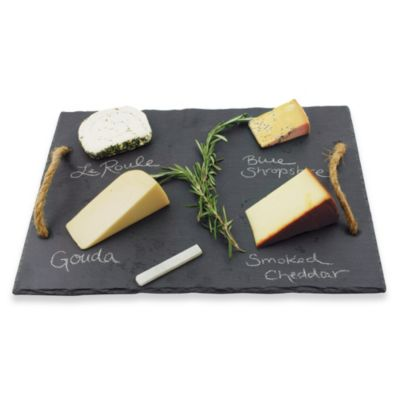 Vintage & Vine Slate Cheese Board by Bed Bath And Beyond