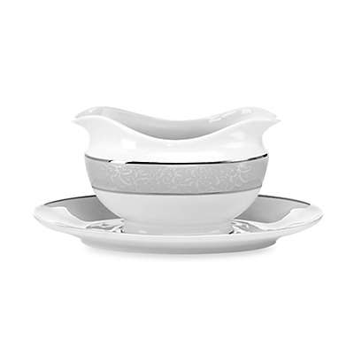 Mikasa® Parchment Gravy Boat with Tray