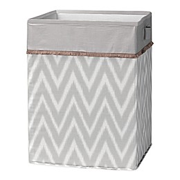 Lambs & Ivy® Urban Jungle Hamper in Grey/White