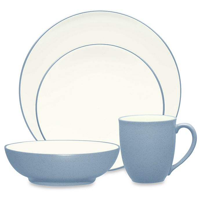 Alternate image 1 for Noritake® Colorwave Coupe Dinnerware Collection in Ice
