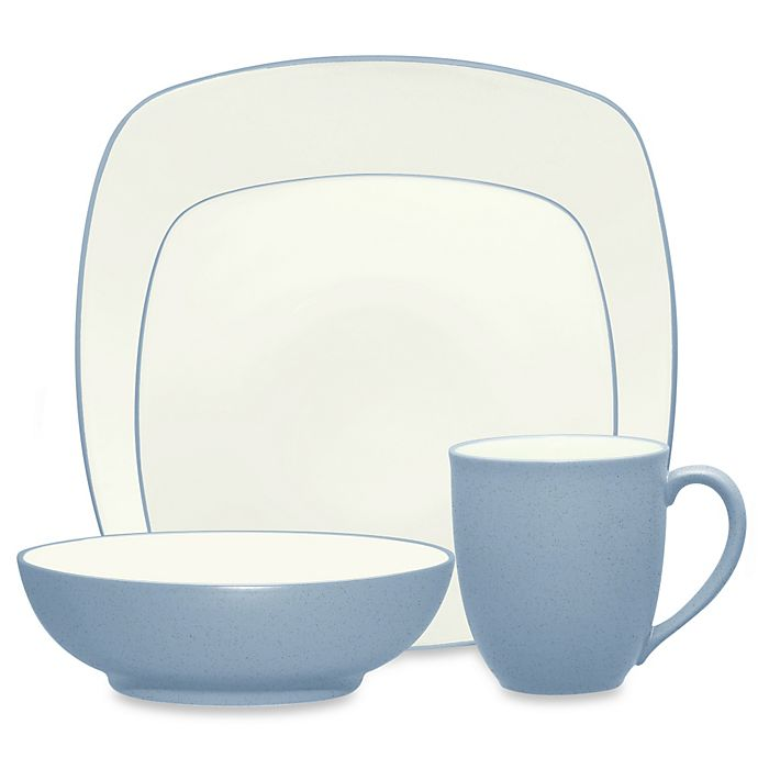 Alternate image 1 for Noritake® Colorwave Square Dinnerware Collection in Ice