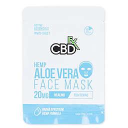 CBDfx™ 20mg CBD Hemp Aloe Vera Face Mask