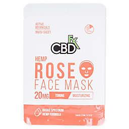 CBDfx™ 20mg CBD Hemp Rose Face Mask