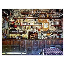 Christopher Knight Collection Underground Wine Cellar Canvas Wall Art