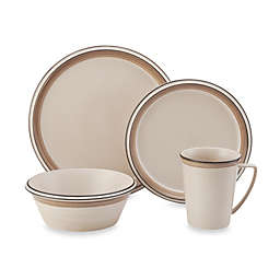 Mikasa® Concord Banded Tan Dinnerware Collection