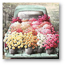 Chicken Soup for the Soul® Floral Delivery 24-Inch Square Canvas Wall Art
