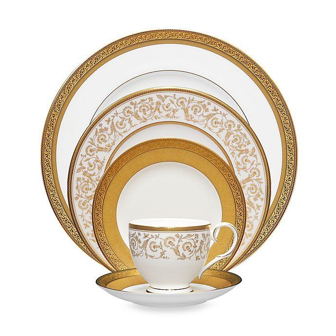 Alternate image 1 for Noritake® Summit Gold Dinnerware Collection