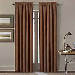 J. Queen New York™ Timber 2-Pack 84-Inch Rod Pocket Window Curtain Panels in Gold
