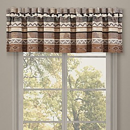 J. Queen New York™ Timber Window Valance in Gold