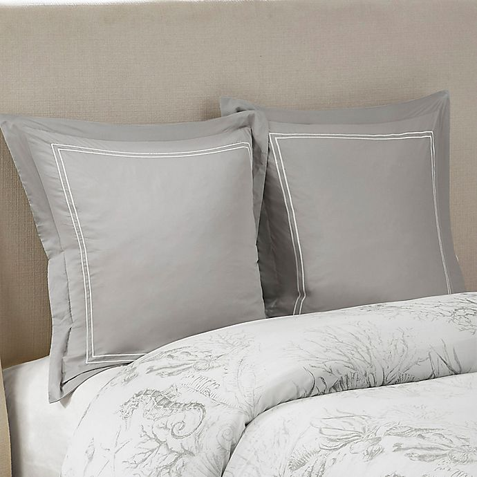 Alternate image 1 for Harbor House® Sea Breeze European Pillow Sham in Grey