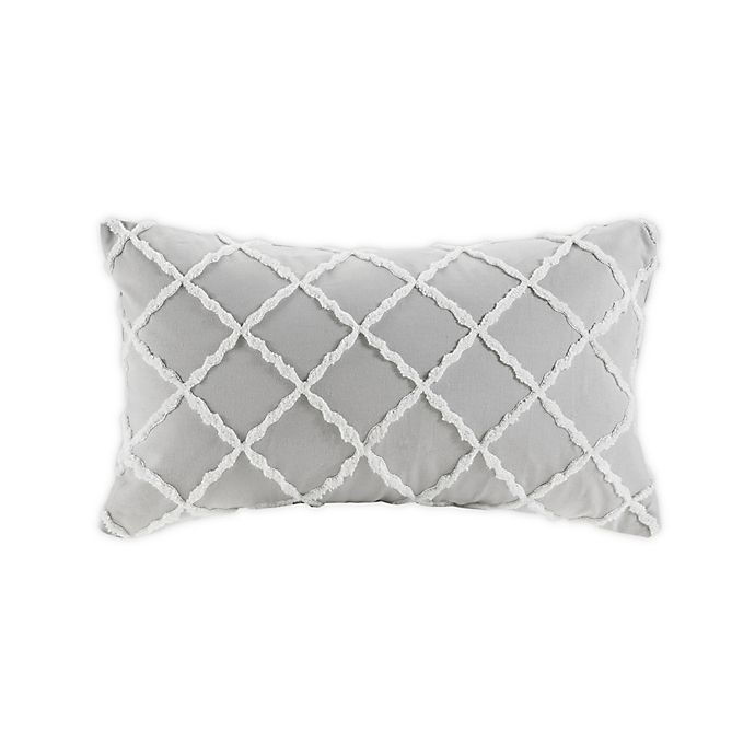 Alternate image 1 for Harbor House® Sea Breeze Oblong Throw Pillow in Grey
