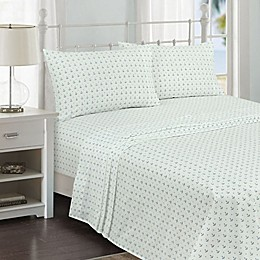 Coastal Life Anchor Dot 144-Thread-Count Sheet Set