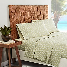 Tommy Bahama® Aloha Pineapple 200-Thread-Count Pillowcases in Sage (Set of 2)