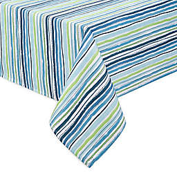 Cool Summer Stripe Indoor/Outdoor Table Linen Collection