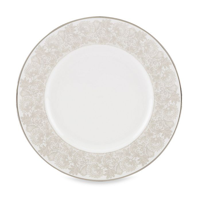 Alternate image 1 for Lenox® Lyrical Garden 9-Inch Accent Plate