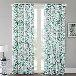 Regency Heights Mariposa Grommet Top Window Curtain Panel