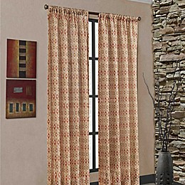Mendes Rod Pocket Window Curtain Panel