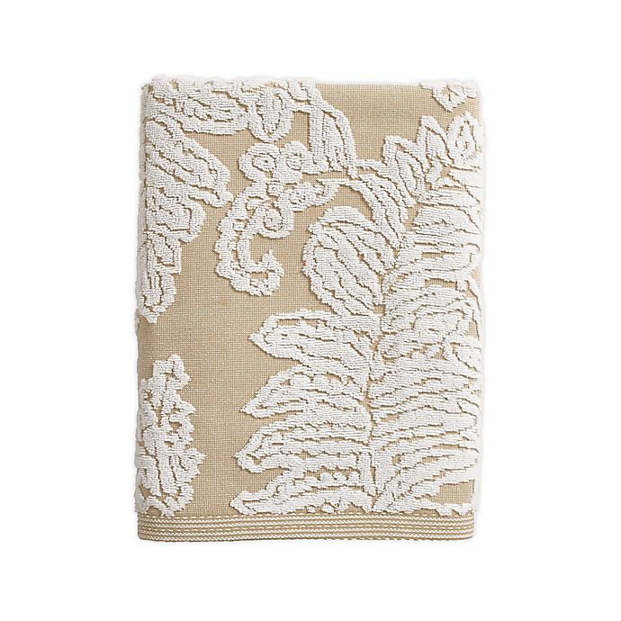 Alternate image 1 for Bee & Willow™ Home Fern Cotton Jacquard Bath Towel in Taupe