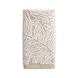 Bee & Willow™ Home Fern Cotton Jacquard Hand Towel in Taupe