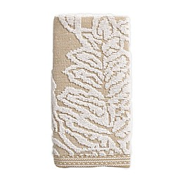 Bee & Willow™ Home Fern Cotton Jacquard Fingertip Towel in Taupe