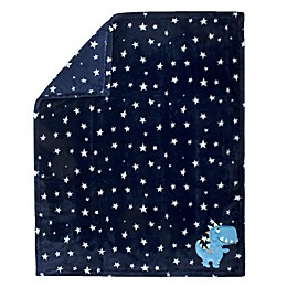 Baby Essentials Dinosaur Stars Polyester Security Blanket