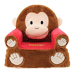 Soft Landing™ Premium Sweet Seats™ Curious George® Character Chair