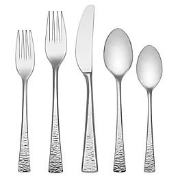 Lenox® Gorham® Biscayne 75-Piece Stainless Steel Flatware Set