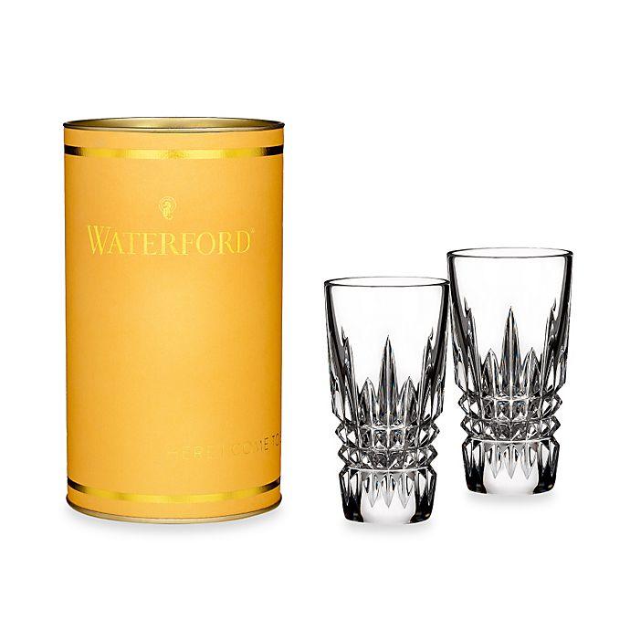 Alternate image 1 for Waterford® Giftology Lismore Diamond Shot Glasses (Set of 2)