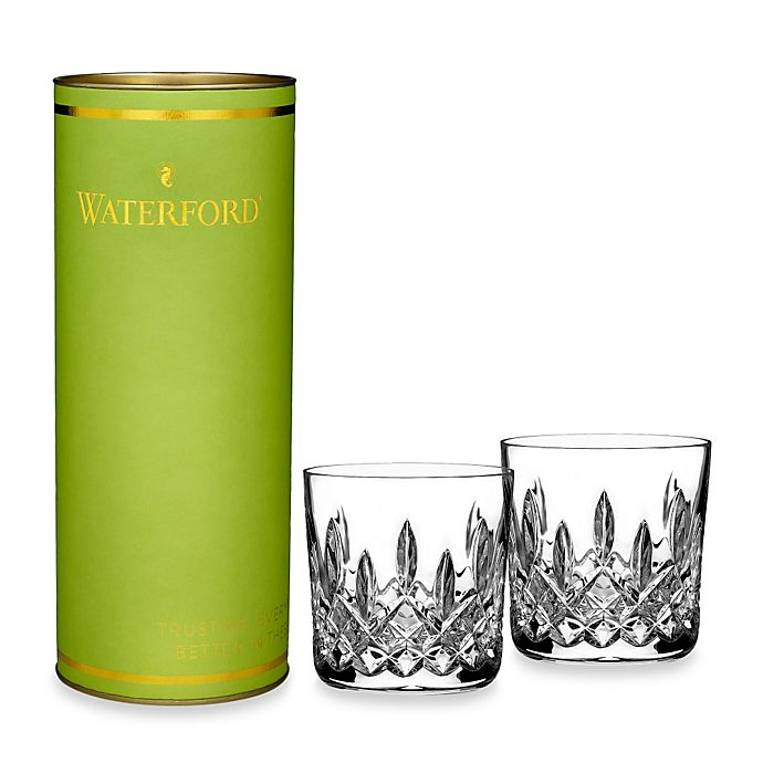 Alternate image 1 for Waterford® Giftology Lismore Tumblers (Set of 2)