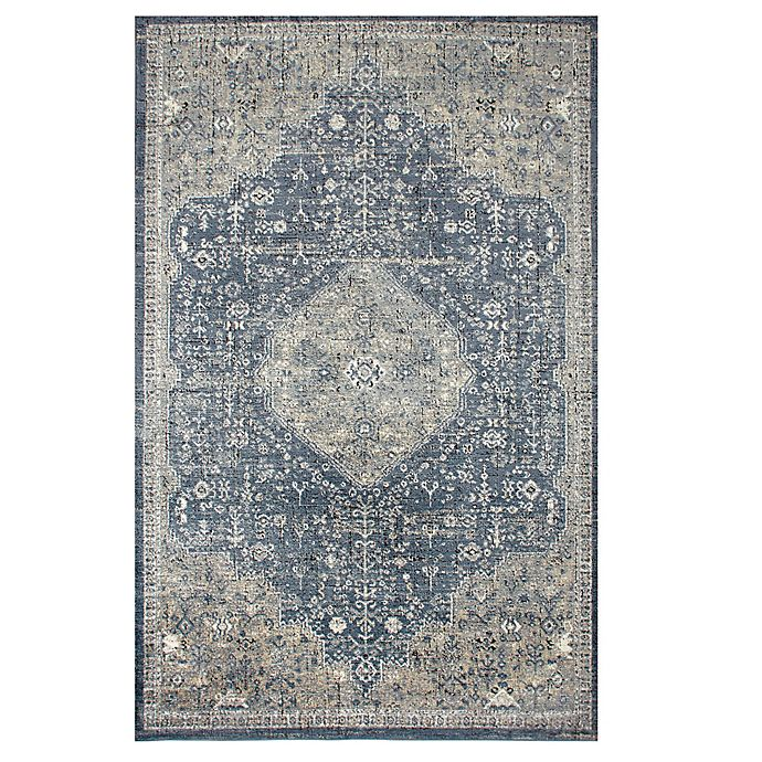 Alternate image 1 for Bee & Willow™ Home Winchester Area Rug in Navy
