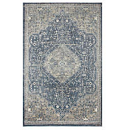 Bee & Willow™ Home Winchester 5'3 x 7'6 Area Rug in Navy