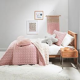 UGG® Millie Heart Quilt Set in Pink