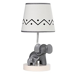 Lambs & Ivy® Urban Jungle Me & Mama Table Lamp in Grey/White