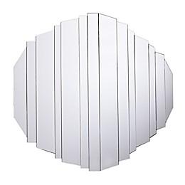 Holly & Martin® Sliwas 34-Inch Round Wall Mirror in Black
