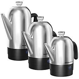 Hamilton Beach® Stainless Steel Coffee Percolators