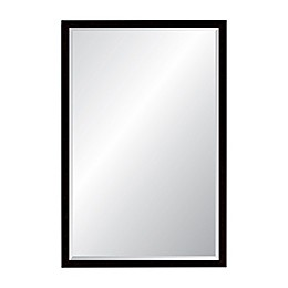 Foundry 22.75-Inch x 35.75-Inch Rectangular Wall Mirror in Antique Pewter
