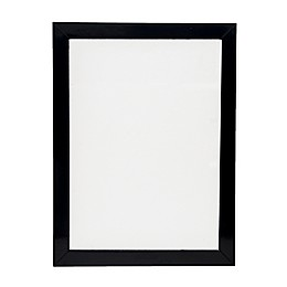 One Kings Lane Open House™ 40-Inch x 22-Inch Rectangular Wall Mirror with Black Lacquer Finish