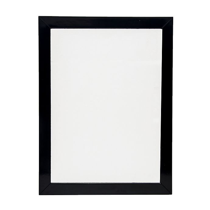 Alternate image 1 for One Kings Lane Open House™ 40-Inch x 22-Inch Rectangular Wall Mirror with Black Lacquer Finish