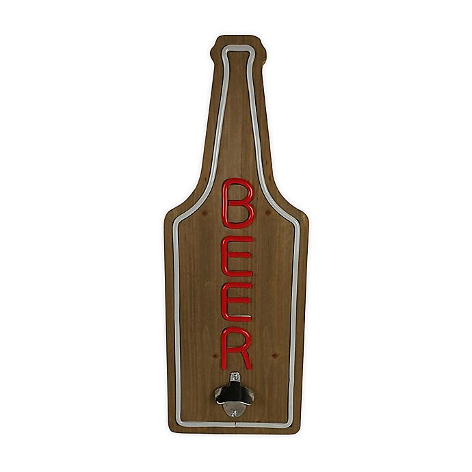 Alternate image 1 for Beer 24-Inch x 9-Inch LED Neon Sign