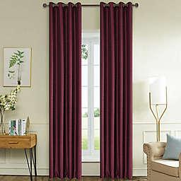 Lyndale Aberdeen Grommet Blackout Window Curtain Panel