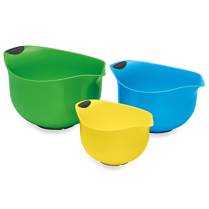 Alternate image 1 for Cuisinart® 3-Piece Mixing Bowl Set