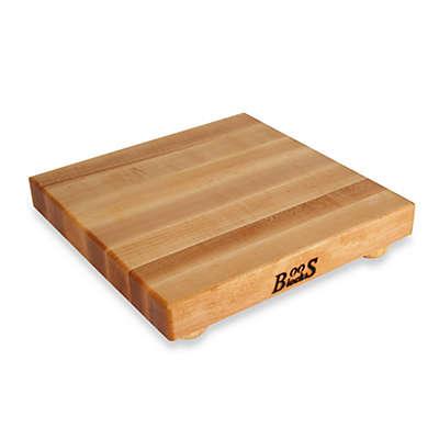 John Boos 12-Inch x 12-Inch Hard Maple Cutting Board
