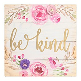 Sweet Bird & Co Be Kind 12-Inch Square Wall Art