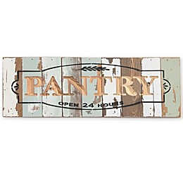 Sweet Bird & Co Pantry 18-Inch x 6-Inch Wall Art