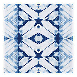 Global Caravan™ Shibori Tie Dye 57-Inch x 57-Inch Tapestry Wall Art in Blue