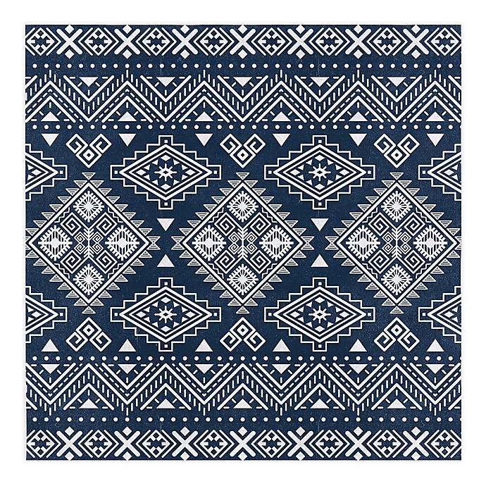 Alternate image 1 for Global Caravan™ Tribal 57-Inch x 57-Inch Tapestry Wall Art in Blue