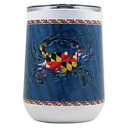 Indigo Falls State of Maryland 18 oz. Curved Insulated Tumbler
