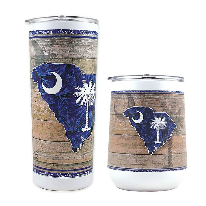 Alternate image 1 for Indigo Falls State of South Carolina Drinkware Collection