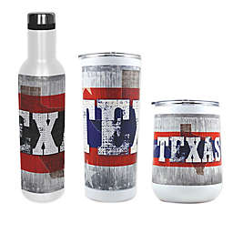 Indigo Falls State of Texas Drinkware Collection